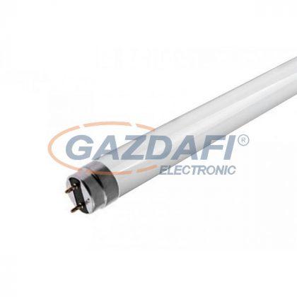 OPTONICA TU5611 LED fénycső T8 üveg, egyoldalú betáplálás 24W 150CM 175-265V 3000LM 4500K Ra>80 PF>0.9
