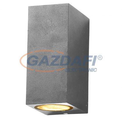 OPTONICA WL7442 fali lámpa alumínium ezüst  IP54 2*GU10  AC220-240V