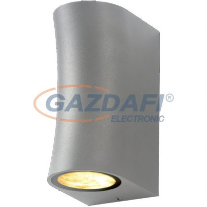 OPTONICA WL7448 fali lámpa alumínium ezüst  IP44 2*GU10  AC220-240V