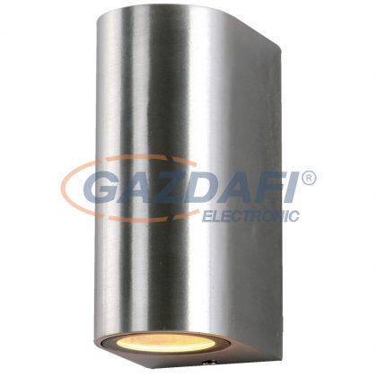 OPTONICA WL7450 fali lámpa alumínium  IP54 2*GU10  AC220-240V