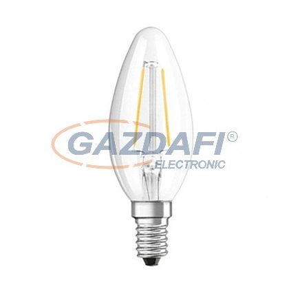 OSRAM Parathom B35 Filament LED fényforrás E14, 1.6W, 136Lm, 240V, 2700K