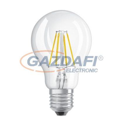 OSRAM Parathom A60 LED fényforrás, filament, E27, 4W, 470Lm, 240V, 2700K, 827, dimmelhető, víztiszta búra