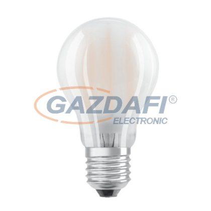 OSRAM Parathom A60 LED fényforrás, filament, E27, 6.5W, 806Lm, 240V, 2700K, 827, dimmelhető, opál búra