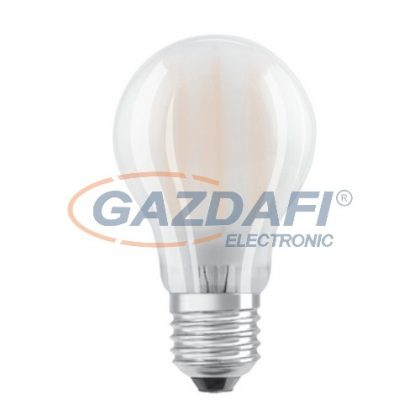 OSRAM Parathom A60 LED fényforrás, filament, E27, 7W, 806Lm, 240V, 2700K, 827, opál búra