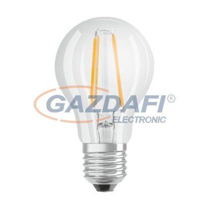 OSRAM Parathom A60 LED fényforrás, filament, E27, 4W, 470Lm, 240V, 4000K, 840, víztiszta búra