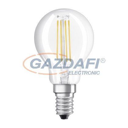 OSRAM Value P45 Filament LED kisgömb fényforrás E14, 4W, 470Lm, 240V, 2700K