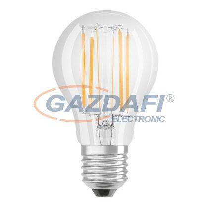 OSRAM Parathom A75 LED fényforrás, filament, E27, 8W, 1055Lm, 240V, 2700K, 827, víztiszta búra