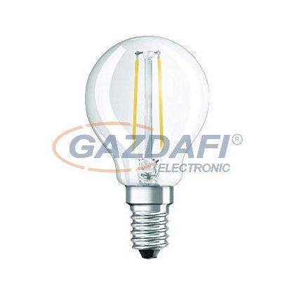 OSRAM Parathom LED kisgömb fényforrás, filament, E14, 2.8W, 250Lm, 240V, 2700K