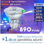 Bec Led RADIUM LED GU10, 6,9W, 575Lm, 240V, 4000K
