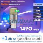 Bec Led RADIUM LED G9, 3.8W, 470Lm, 240V, 2700K, opal
