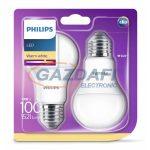 PHILIPS 8718696586099 13W E27 Classic izzó A60 LED fényforrás 2db/csomag