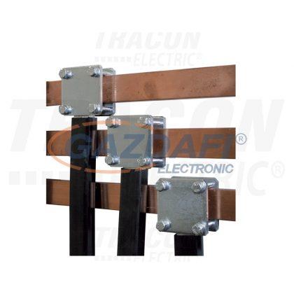 TRACON PK30/34X10 Leágazó modul, 34×10 mm-es lemezsínhez, 30mm-es sínre