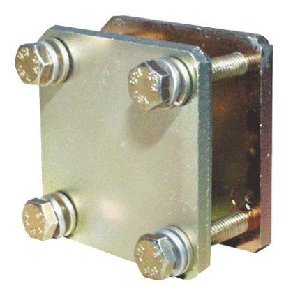TRACON PK50/34X10 Leágazó modul, 34×10 mm-es lemezsínhez, 50mm-es sínre