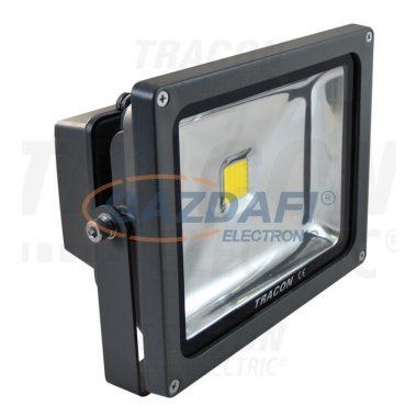 TRACON R-SMD-30WW Fényvető SMD fényforrással 30 W, 2700 K, IP65, 100-240 V AC, 2100 lm, EEI=A
