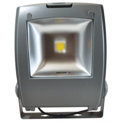 TRACON R-SMDP-80W LED fényvető, porszórt házas 100-240 VAC, 80 W, 6400 lm, 4500 K, 50000 h, EEI=A