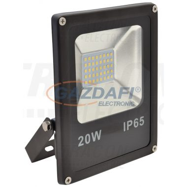 TRACON RSMDR20W Fényvető SMD fényforrással 220-240 V AC, 20 W, 1400 lm, 4500 K, IP65, EEI=A