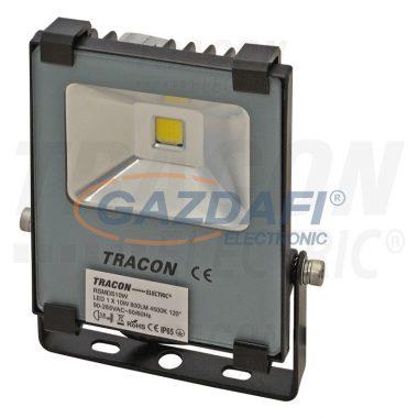 TRACON RSMDS10W Fényvető SMD fényforrással 100-240 V AC, 10 W, 800 lm, 4500 K, IP65; EEI=A
