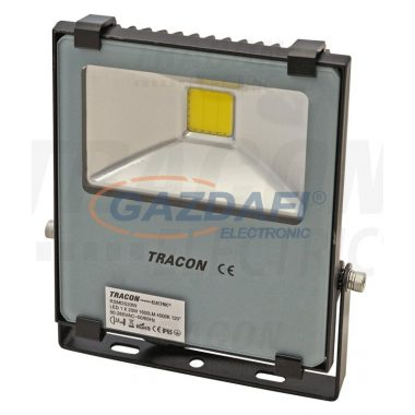 TRACON RSMDS20W Fényvető SMD fényforrással 100-240 V AC, 20 W, 1600 lm, 4500 K; IP65, EEI=A