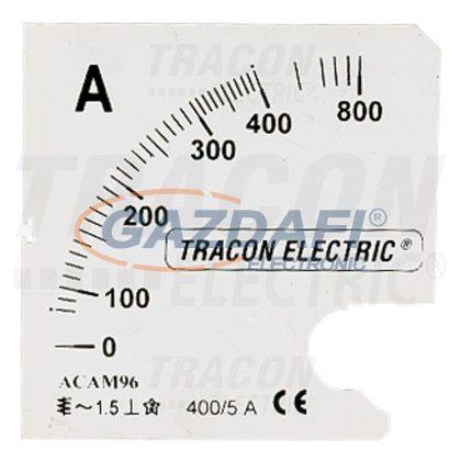 TRACON SCALE-AC96-80-5A Skálalap ACAM96-5 alapműszerhez
