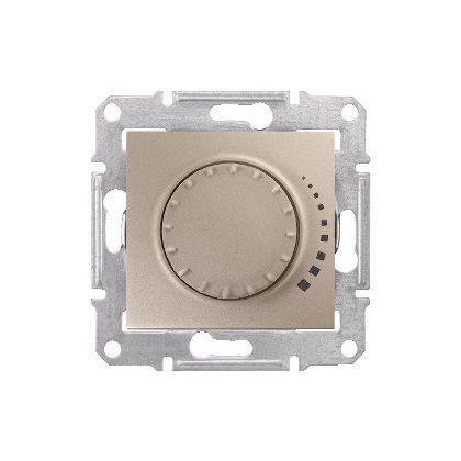 SCHNEIDER SDN2200568 SEDNA Fényerőszabályzó, rezisztív/induktív,60- 500VA, váltókapcsolásba köthető, titánium