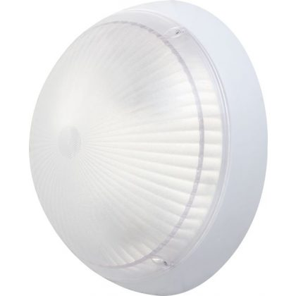 S&G kültéri lámpatest PC E27 2x60W 300x130mm IP54
