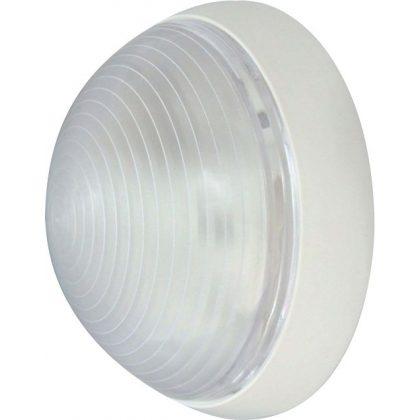 S&G kültéri lámpatest PS E27, 25W, Ø270x100mm, IP54 +1db 28W Eco halogén izzó