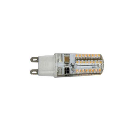 S&G LED fényforrás, SMD, 2,2W, 180lm, 3000K, G9, 230V