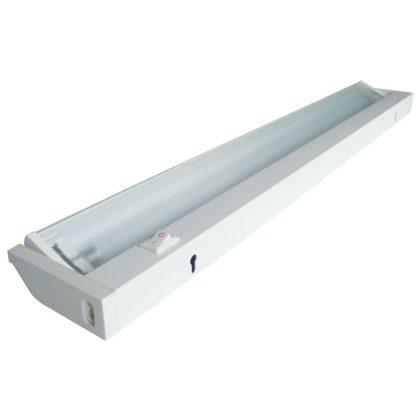 Fénycsöves bútorvilágító kapcsolóval 120°-ban forgatható 14W