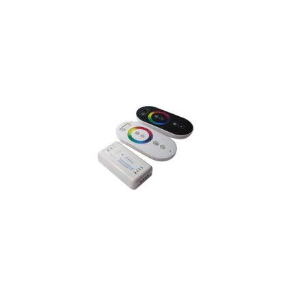 S&G RGB LED vezérlő beépített jelerősítővel, DC12-24V, 216W, 3x6A