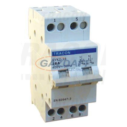 TRACON SVK2-32 Sorolható választókapcsoló 2P, 32A