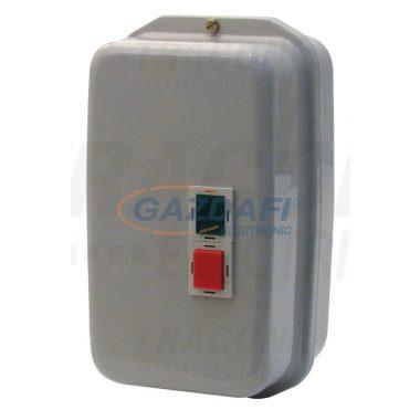 TRACON TEMS3-651 Tokozott motorvédő kombináció, kontaktor+hőrelé, fém ház 660V, 50Hz, 60A, 30kW, 400V AC, 48-65A