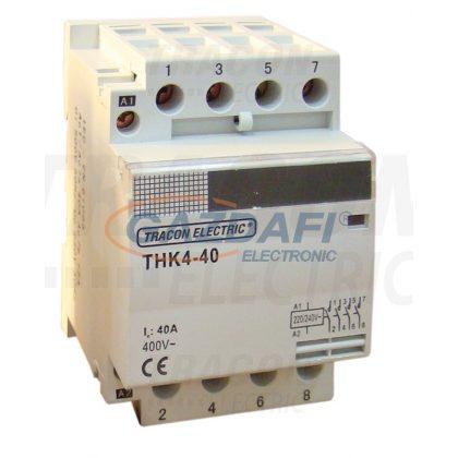TRACON THK4-63-24_2NO_2NC_ Installációs kontaktor