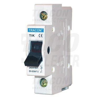 TRACON TIK1-32 Leválasztó kapcsoló 1P, 32A