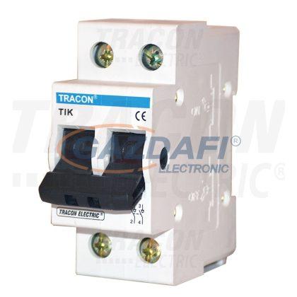 TRACON TIK2-32 Leválasztó kapcsoló 2P, 32A