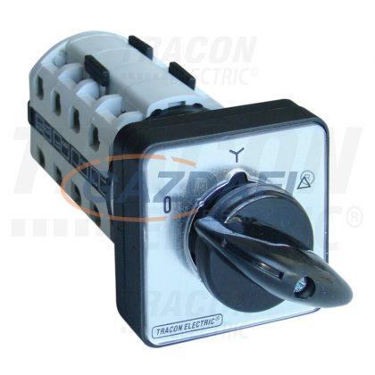 TRACON TKM-25-C Közvetlen Y-D motorkapcsoló