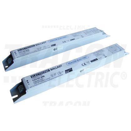 TRACON TLFV-EE-218 Elektronikus előtét T8 fénycsöves lámpatestekhez 220-240V, 50Hz, 2×18W, A2
