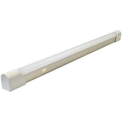 TRACON TLLED24W LED T8 bútorvilágító belső sorozatkapoccsal 230 V, 50 Hz, 24 W, 2000 lm, 4500 K, 1525 mm, EEI=A