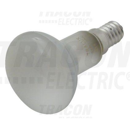 TRACON TLRL-R50-E14-25-F Reflektorlámpa, tejfehér 230V, 50Hz, E14, R50, 25W, 1000h