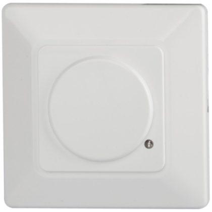 TRACON TMB-054R Mozgásérzékelő, szerelvénydobozba szerelhető, radaros, fehér 230 VAC, 5,8 GHz, 180°, 5-15 m, 10 s-12 min, 3-2000lux