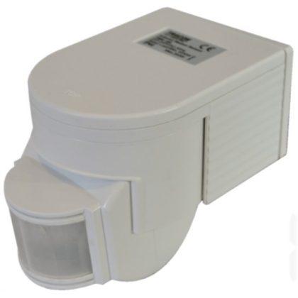 TRACON TMB-108 Mozgásérzékelő, infra falra 230 VAC, 180°, max. 12 m, 10 s-7 min, 3-2000lux, IP44