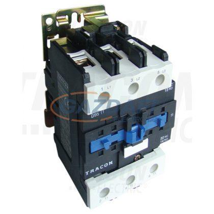 TRACON TR1D8011F7 Kontaktor 660V, 50Hz, 80A, 37kW, 110V AC, 3×NO+(1×NO+1×NC)