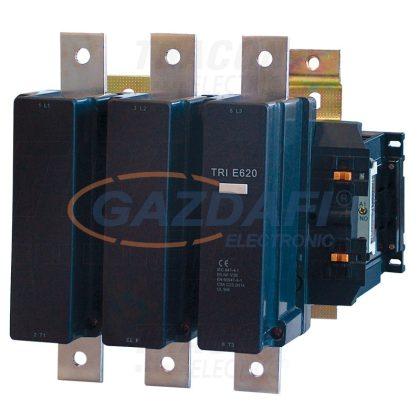 TRACON TR1E620B7 Nagyáramú kontaktor 660V, 50Hz, 620A, 335kW, 24V AC, 3×NO+1×NO