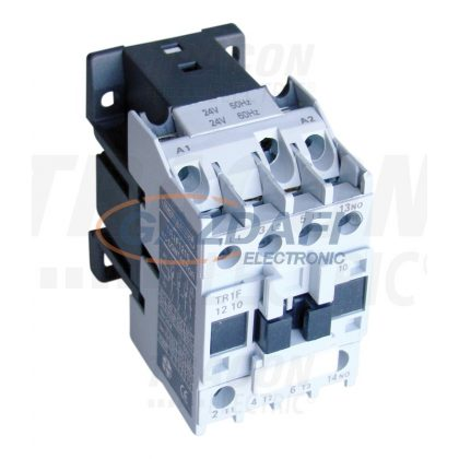 TRACON TR1F1210B7 Kontaktor 660V, 50Hz, 12A, 5,5kW, 24V AC, 3×NO+1×NO