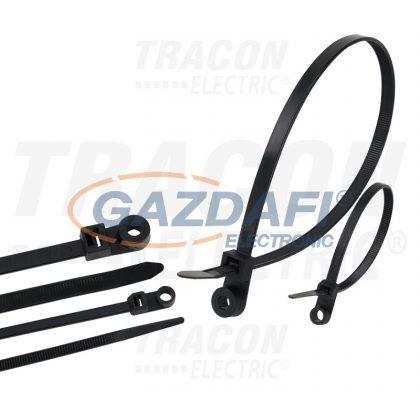 TRACON 110-CS Csavarozható kábelkötegelő 2.5×110mm, D=2-19, PA6.6