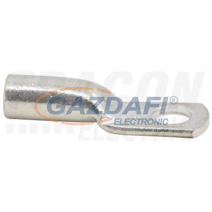 TRACON CLH16-6 Szigeteletlen szemes csősaru,ónozott elektrolitréz 16mm2, M6, (d1=6.8mm, d2=6.4mm)