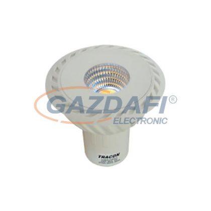 TRACON COBGU107WW COB LED spot fényforrás230VAC, 7 W, 2700 K, GU10, 490 lm, 40°