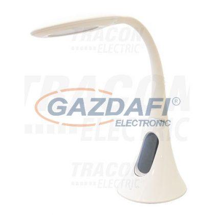 TRACON LALFLEX7W Flexibilis nyakú asztali LED lámpa100-240 V, 50 Hz, 7 W, 2700-6000 K