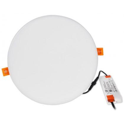 TRACON LED-DLIP-20NW Védett, beépíthető LED mélysugárzó, kerek 230VAC, 20W, 4000K, 1620lm, IP66, EEI=A