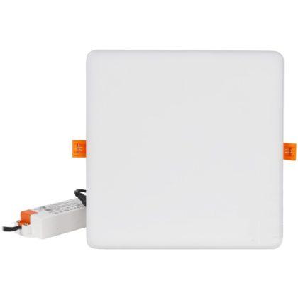 TRACON LED-DLNIP-6NW Védett, beépíthető LED mélysugárzó, négyzetes 230VAC, 6W, 4000K, 450lm, IP66, EEI=A+