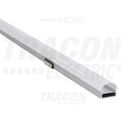 TRACON LEDSZK Alumínium profil LED szalagokhoz, külső rögzítéses W=10mm, 5 db/csomag